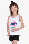 FOX KIDS Girl Party Print Top