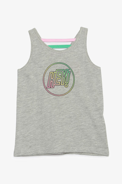 FOX KIDS Girl Athleisure Graphic Print Tank Top