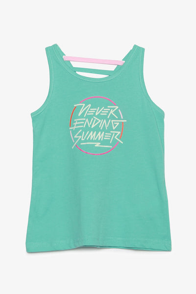 Printed Tank with Back Detail