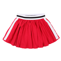 Knit Skirt with Side Colour Tape