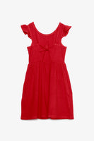 FOX KIDS Girl Frill Sleeve Dress