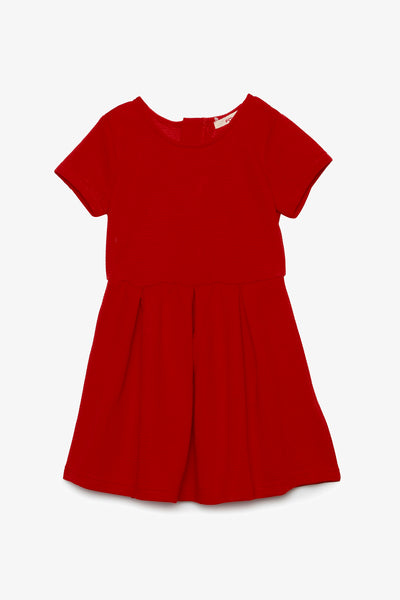 FOX KIDS Girl Dress with Rib Detail