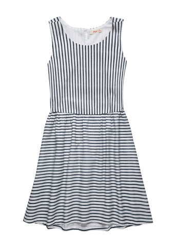 Woven Dress with Back Vent