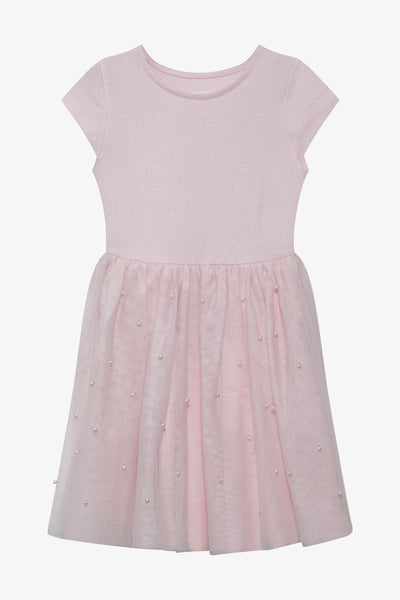 FOX Kid Girl Cap Sleeve Dress