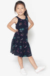 FOX KIDS Girl All Over Printed Jersey Dress
