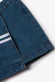 FOX KIDS Girl Denim Skirt with Stripes