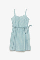 FOX KIDS Girl Striped Denim Dress