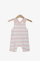 FOX Newborn & Baby 2-Piece Baby Girl Dungaree Set