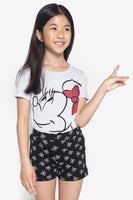 FOX Kid Girl 2-Piece Minnie Pyjama Set