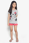 FOX Kid Girl 2-Piece Mickey & Minnie Pyjama Set