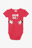 FOX NEWBORN Minnie Mouse Short-Sleeved Bodysuit