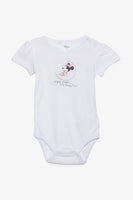 Minnie Mouse Short-Sleeved Bodysuit
