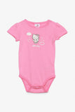 FOX NEWBORN Hello Kitty Short-Sleeved Bodysuit