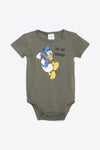 FOX NEWBORN Donald Duck Short-Sleeve Bodysuit