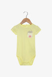 FOX Newborn & Baby Pocket Bodysuit