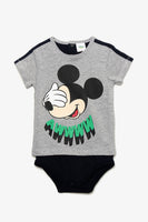 FOX BABY Boy Mickey Mouse Bodysuit