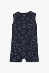 Printed Jersey Romper Suit