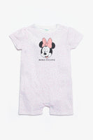 FOX NEWBORN Minnie Mouse Print Romper Suit