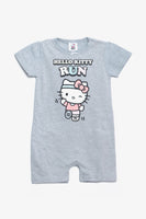 FOX NEWBORN Hello Kitty Print Romper Suit