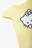 FOX Newborn & Baby Flutter Sleeve Hello Kitty Romper