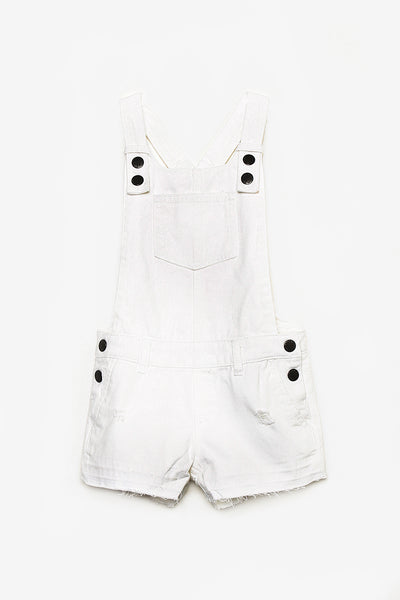FOX KIDS Girl Denim Dungaree Shorts