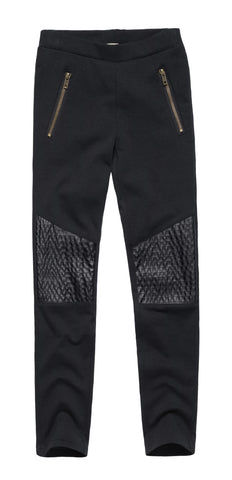Essential Pants with Knee Details