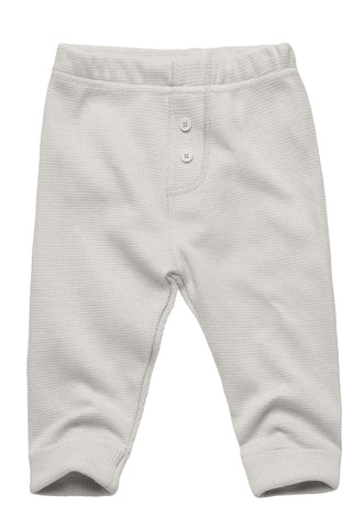 Essential Knit Pants with Buttons