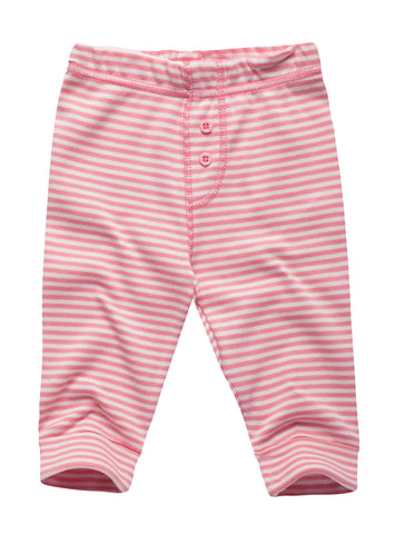 Striped Pants with Button details