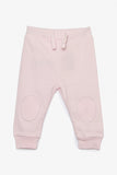 FOX NEWBORN Drawstring Knit Pants