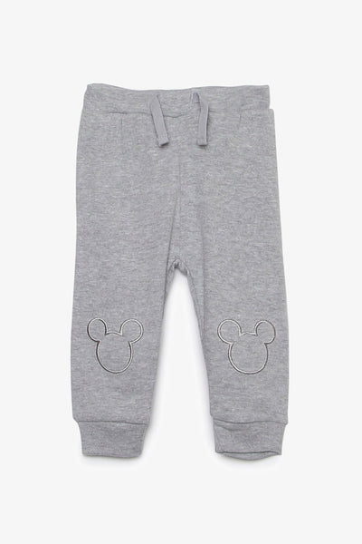 FOX NEWBORN Mickey Mouse Knit Pants