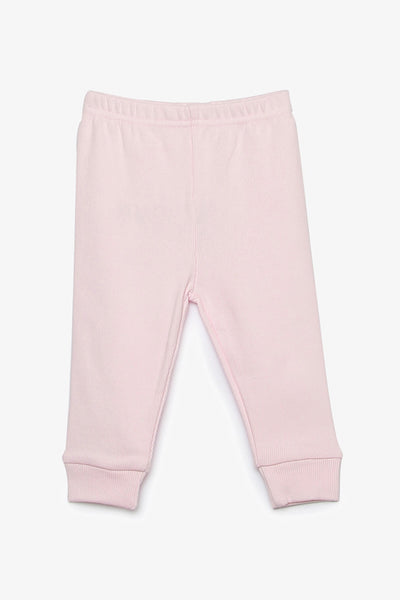 FOX NEWBORN Rib Knit Pants