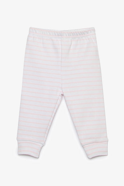 FOX NEWBORN Stripe Rib Knit Pants