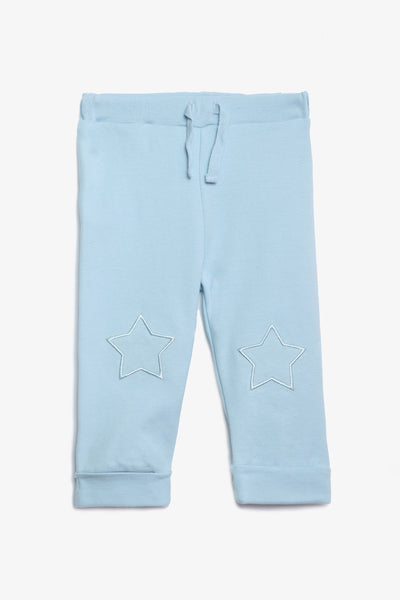 FOX NEWBORN Drawstring Jersey Pants