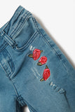 FOX KIDS Girl Jeans with Embroidery