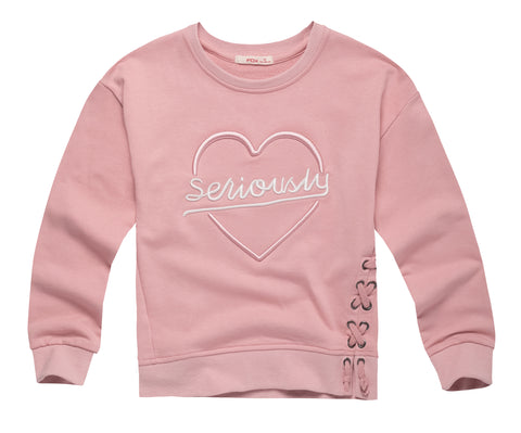 Laced-up Sweatshirt