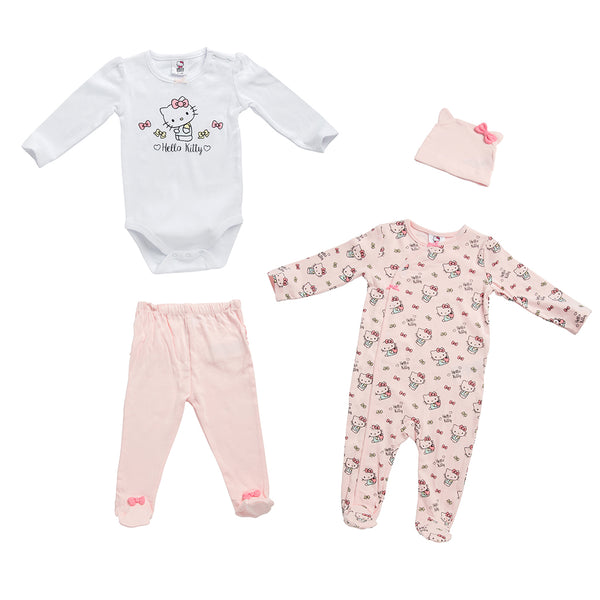 Hello Kitty 4-piece Set