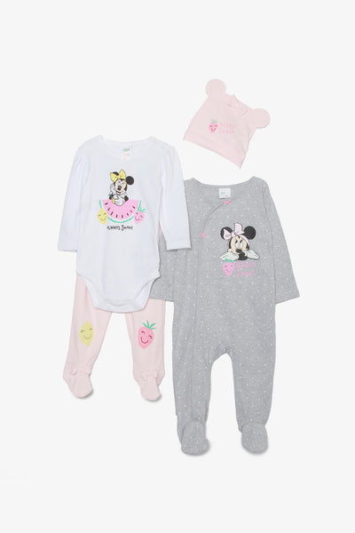 FOX NEWBORN 4-Piece Minnie Mouse Set