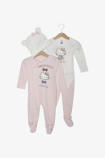 FOX Newborn & Baby 4-Piece Hello Kitty Set