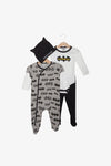 FOX Newborn & Baby 4-Piece Batman Set