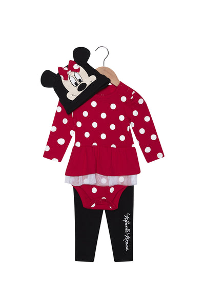 FOX NEWBORN & BABY 3-Piece Minnie Mouse Set