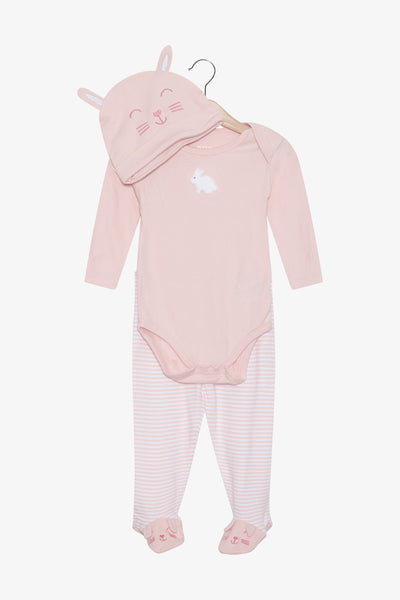 FOX Newborn & Baby 3-Piece Baby Girl Set