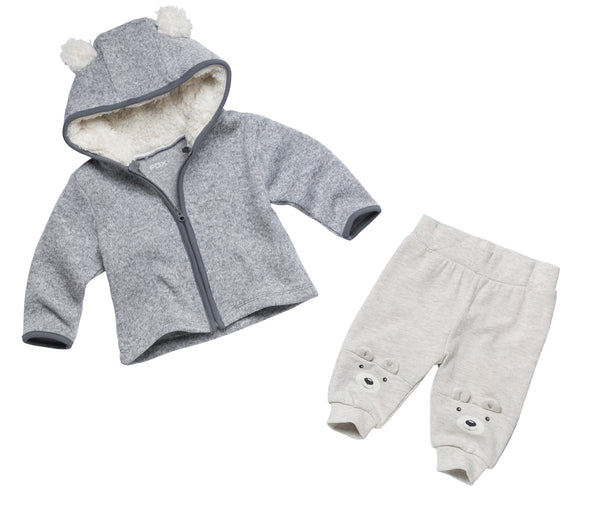 Little Bear Cardigan & Pants Set