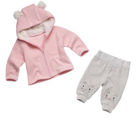 Little Kitty Cardigan & Pants Set