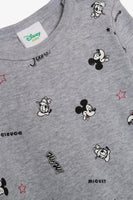 FOX NEWBORN Mickey Mouse Long-Sleeved Bodysuit