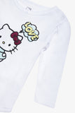 FOX Newborn & Baby Hello Kitty Long Sleeve Romper