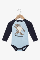 FOX Newborn & Baby Looney Tunes Long Sleeve Romper
