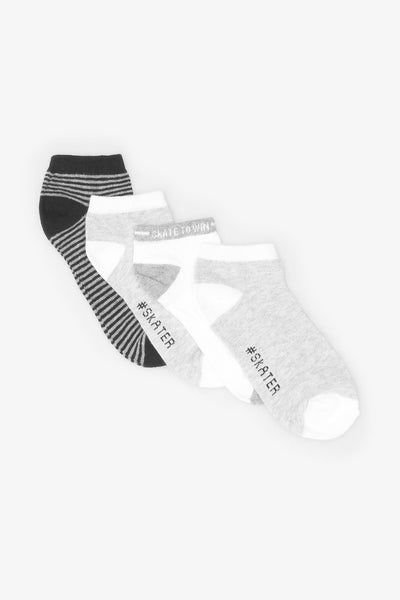 FOX KIDS Boy 4-Pack Trainer Socks
