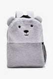 FOX BABY Boy Backpack with Faux Fur Detail
