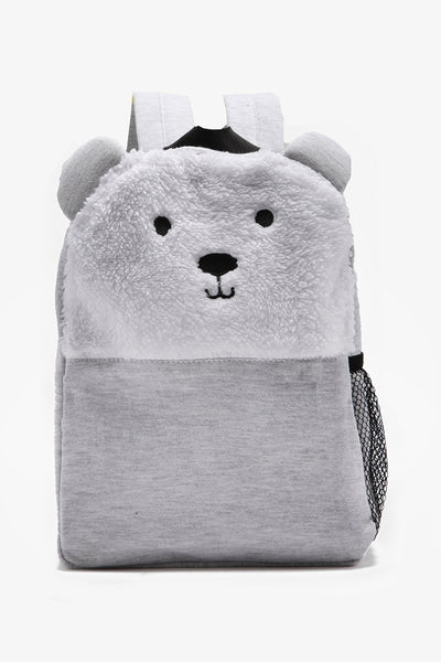 Backpack with Faux Fur Detail