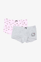 FOX KIDS Girl 2-Pack Hello Kitty Boxer Shorts